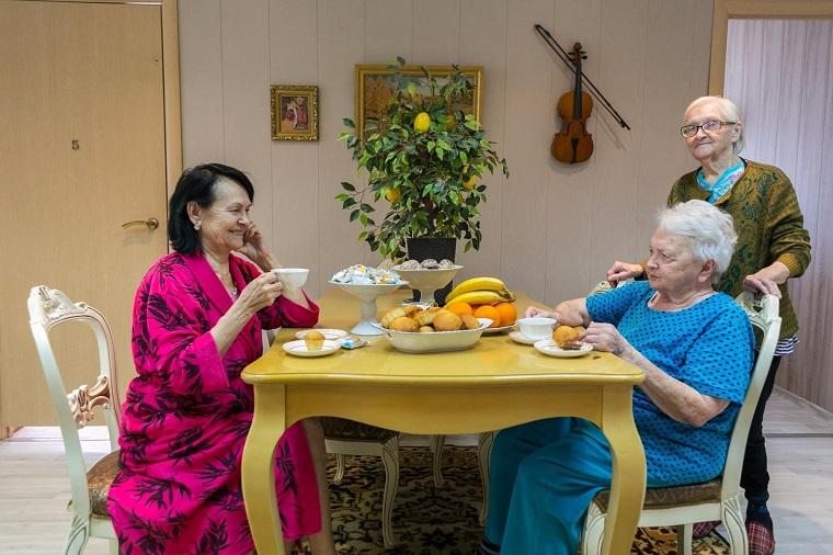 Дом престарелых в Зеленокумске